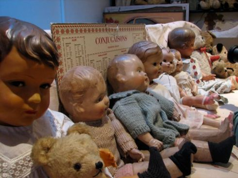 Dolls in the Attic::