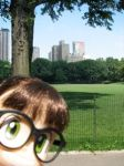 Arare Chan in Central Park